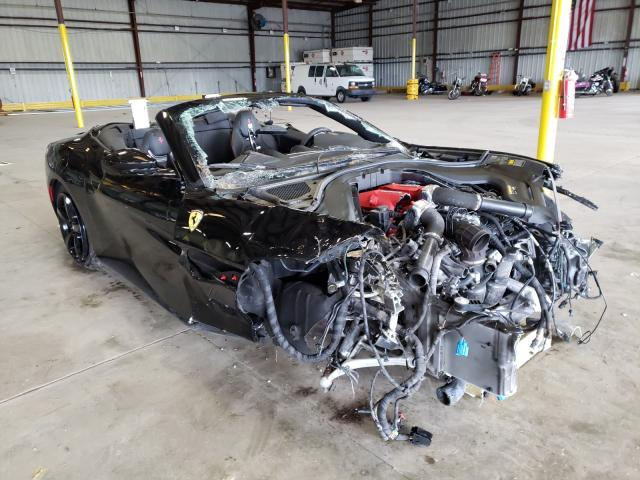 Salvage cars for sale from Copart Jacksonville, FL: 2019 Ferrari Portofino