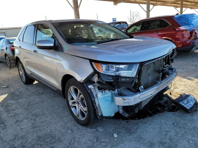 Ford Edge Titanium salvage cars for sale: 2015 Ford Edge Titanium