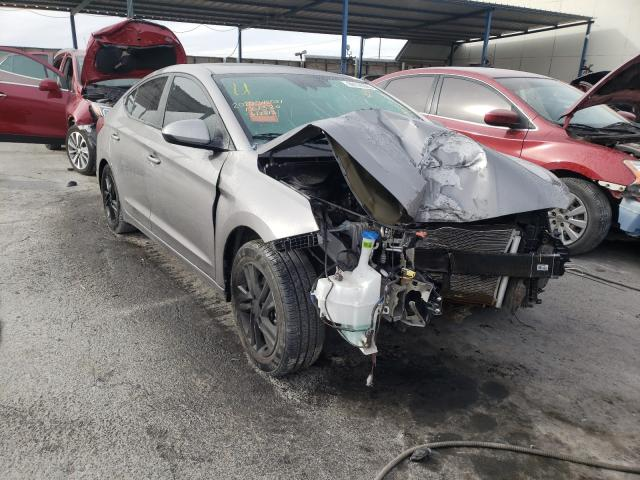 Salvage cars for sale from Copart Anthony, TX: 2020 Hyundai Elantra SE