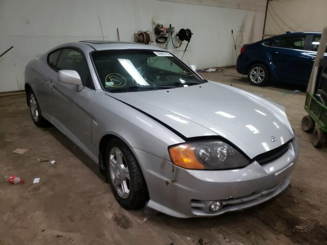Hyundai Tiburon salvage cars for sale: 2003 Hyundai Tiburon