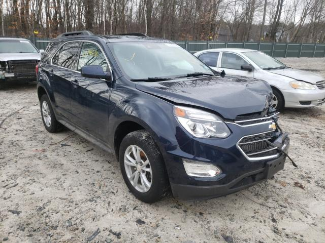 Salvage cars for sale from Copart Candia, NH: 2017 Chevrolet Equinox LT