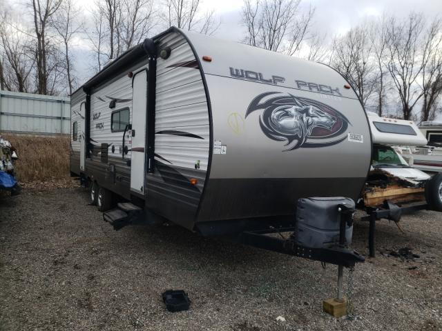 Forest River salvage cars for sale: 2015 Forest River Wolf Pack