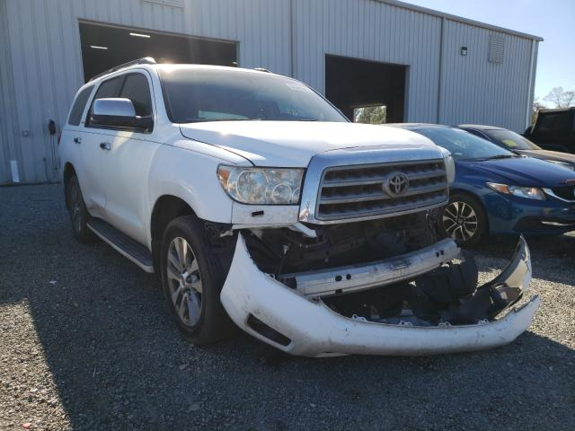 Toyota Sequoia LI salvage cars for sale: 2011 Toyota Sequoia LI