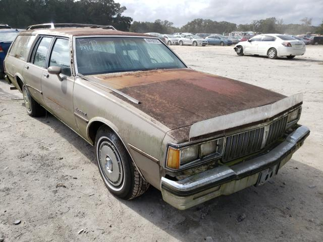 Salvage cars for sale from Copart Ocala, FL: 1984 Pontiac Parisienne