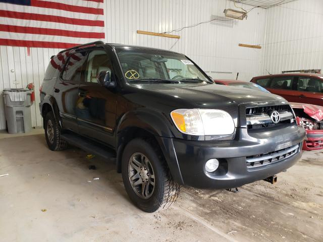 Salvage cars for sale from Copart Seaford, DE: 2006 Toyota Sequoia LI