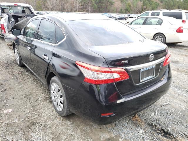 купить 2015 Nissan Sentra S 1.8L 3N1AB7AP7FY304558