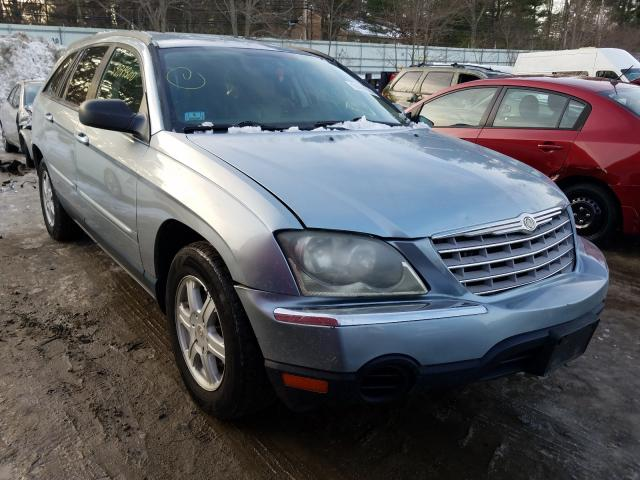 Salvage cars for sale from Copart Mendon, MA: 2005 Chrysler Pacifica