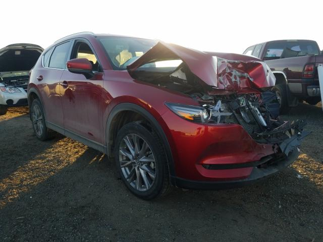 Salvage cars for sale from Copart Helena, MT: 2019 Mazda CX-5 Grand Touring