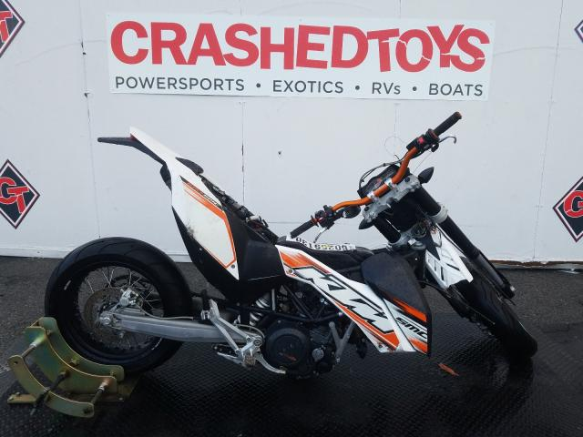 KTM salvage cars for sale: 2010 KTM 690 SMC R