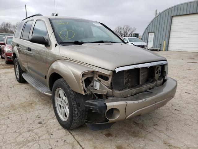 Salvage cars for sale from Copart Wichita, KS: 2006 Dodge Durango SL