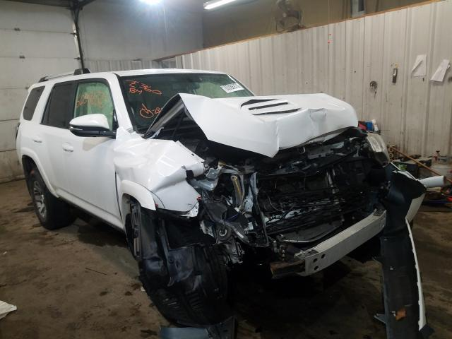 Salvage cars for sale from Copart Lyman, ME: 2015 Toyota 4runner SR
