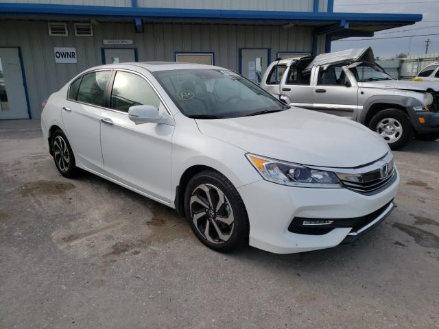 Salvage cars for sale from Copart Riverview, FL: 2016 Honda Accord EXL