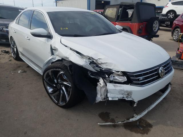 Salvage cars for sale from Copart Riverview, FL: 2017 Volkswagen Passat R-L