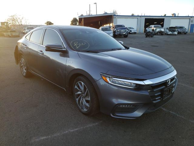 Honda Insight TO salvage cars for sale: 2019 Honda Insight TO