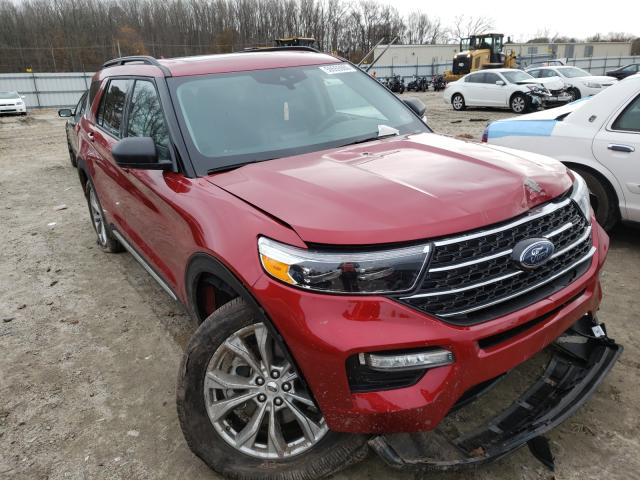 Salvage cars for sale from Copart Hampton, VA: 2020 Ford Explorer X
