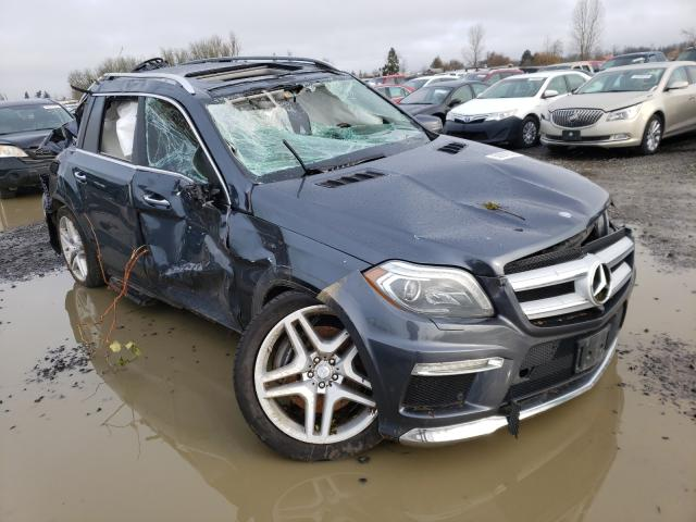 Salvage cars for sale from Copart Eugene, OR: 2014 Mercedes-Benz GL 550 4matic