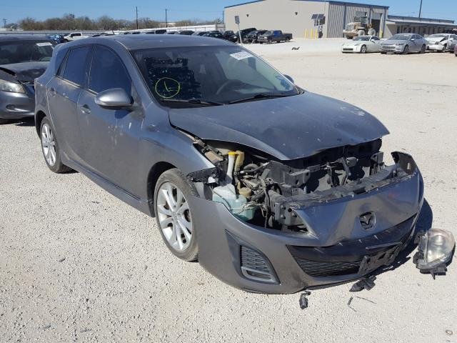 Salvage cars for sale from Copart San Antonio, TX: 2010 Mazda 3 S