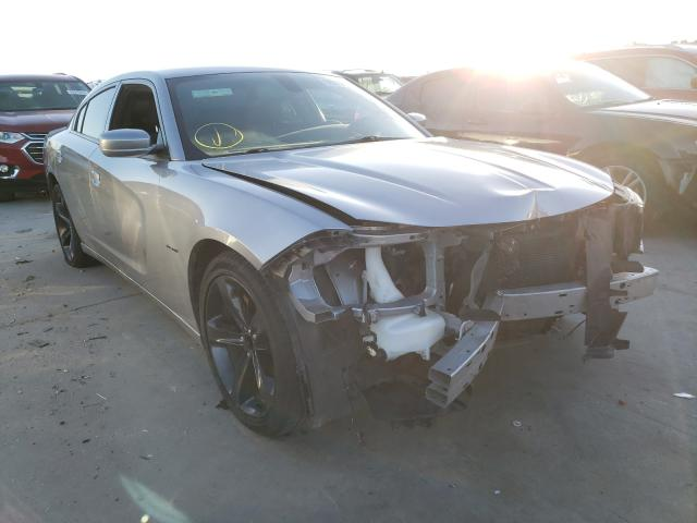 Salvage cars for sale from Copart Grand Prairie, TX: 2018 Dodge Charger R