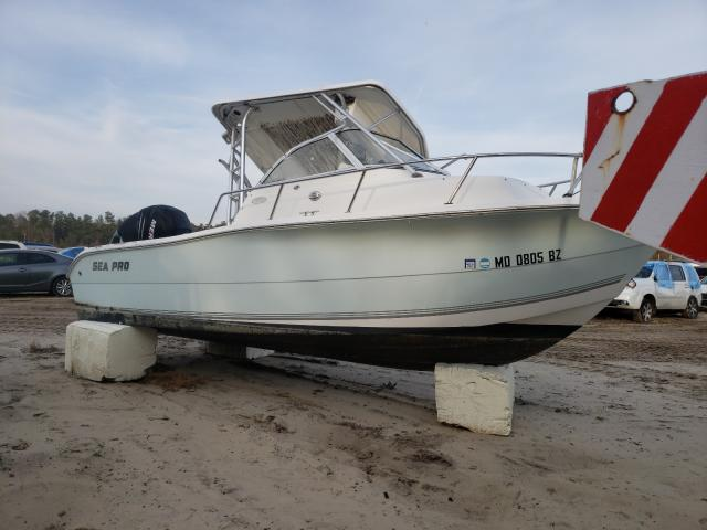 Salvage cars for sale from Copart Seaford, DE: 2006 Sea Pro Boat