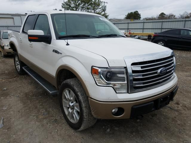 Salvage cars for sale from Copart Florence, MS: 2013 Ford F150 Super