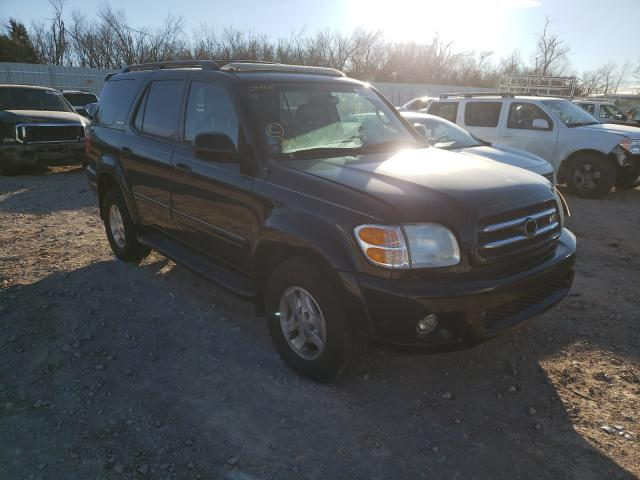 Toyota Sequoia LI salvage cars for sale: 2002 Toyota Sequoia LI