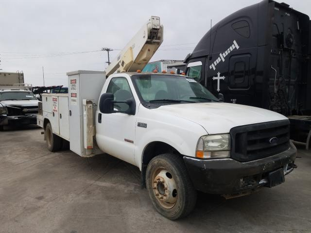 Salvage cars for sale from Copart Sun Valley, CA: 2004 Ford F550 Super