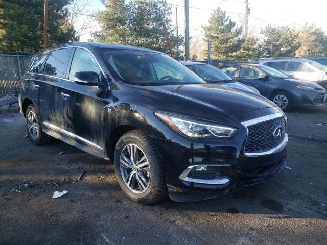Salvage cars for sale from Copart Denver, CO: 2020 Infiniti QX60 Luxe