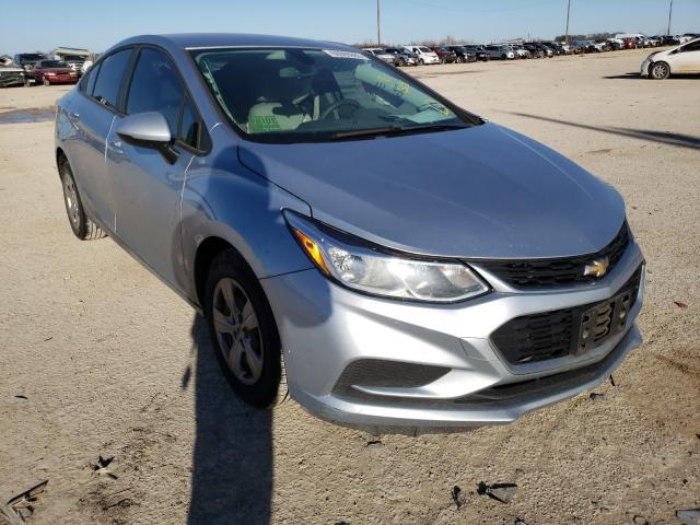 Salvage cars for sale from Copart Temple, TX: 2017 Chevrolet Cruze LS