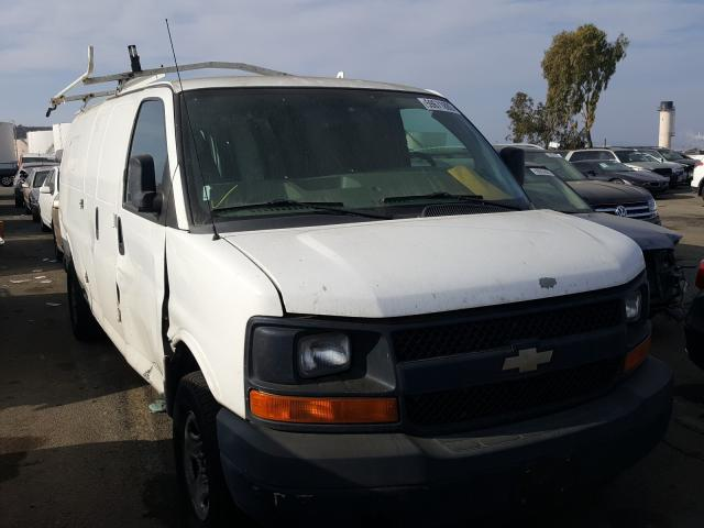 Salvage cars for sale from Copart Martinez, CA: 2012 Chevrolet Express