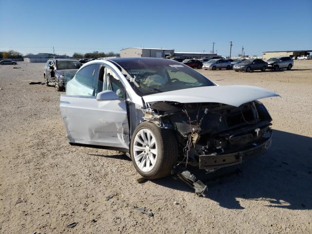 Salvage cars for sale from Copart San Antonio, TX: 2020 Tesla Model X