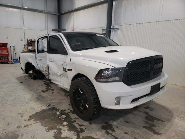 Salvage cars for sale from Copart Greenwood, NE: 2017 Dodge RAM 1500 Sport
