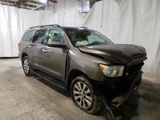 Toyota Sequoia LI salvage cars for sale: 2010 Toyota Sequoia LI