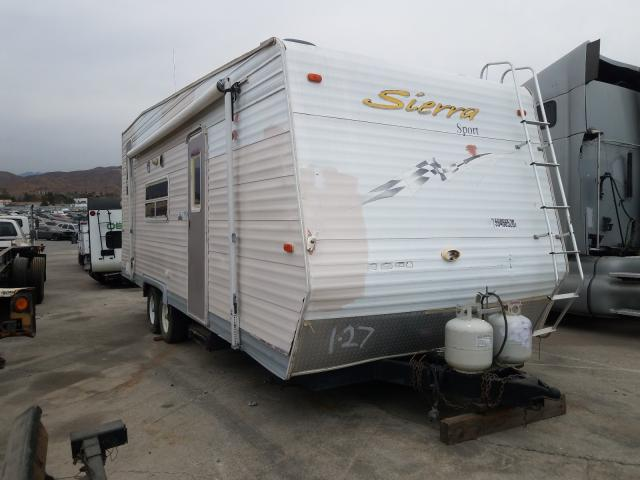Sierra salvage cars for sale: 2005 Sierra Camper