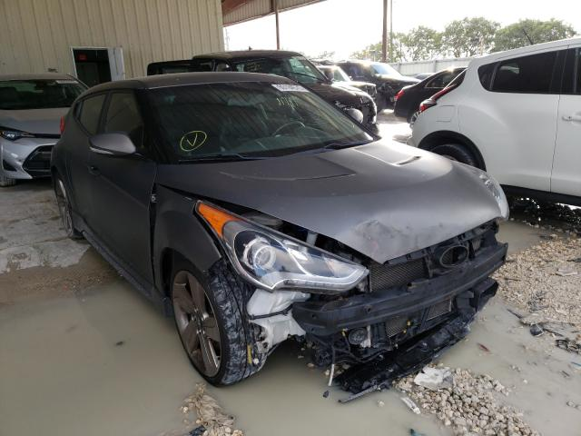 Salvage cars for sale from Copart Homestead, FL: 2015 Hyundai Veloster T