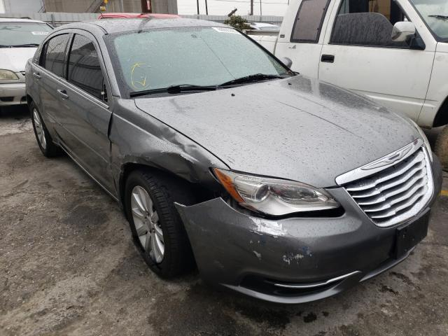 Salvage cars for sale from Copart Wilmington, CA: 2012 Chrysler 200 Touring