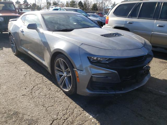 Salvage cars for sale from Copart Denver, CO: 2019 Chevrolet Camaro SS