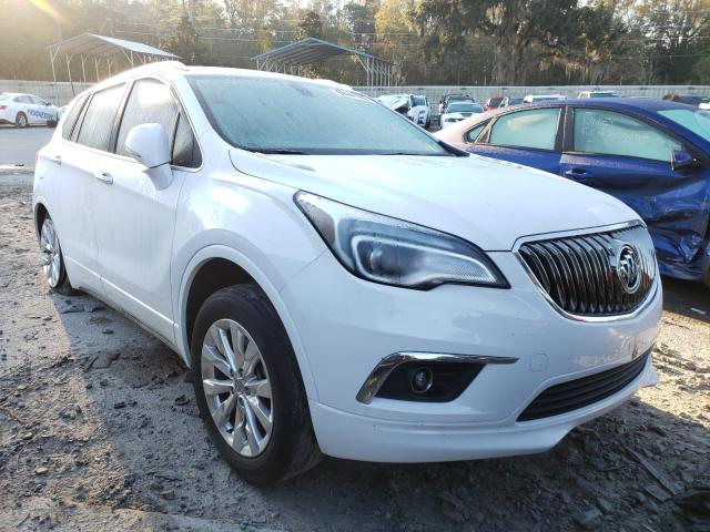 Salvage cars for sale from Copart Savannah, GA: 2018 Buick Envision E