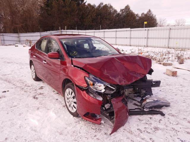 Salvage cars for sale from Copart London, ON: 2018 Nissan Sentra S
