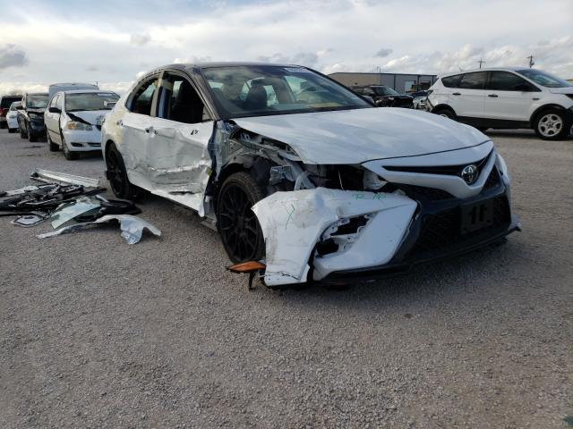 Salvage cars for sale from Copart San Antonio, TX: 2020 Toyota Camry TRD