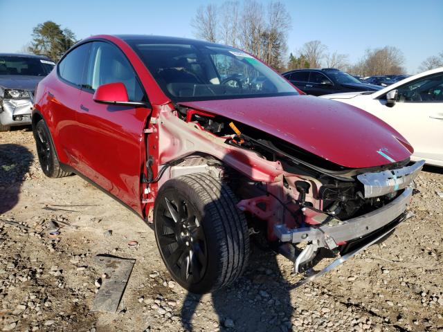 Salvage cars for sale from Copart China Grove, NC: 2020 Tesla Model Y