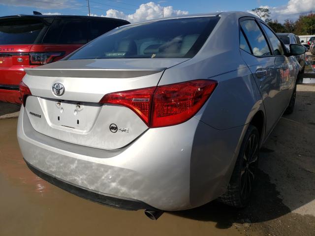 цена в сша 2017 Toyota Corolla L 1.8L 2T1BURHE3HC835402