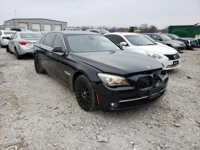 BMW 750 LI XDR salvage cars for sale: 2012 BMW 750 LI XDR