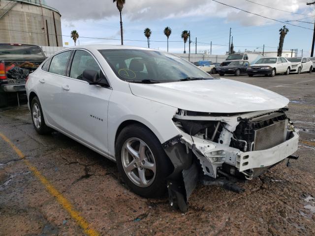 Salvage cars for sale from Copart Wilmington, CA: 2016 Chevrolet Malibu LS