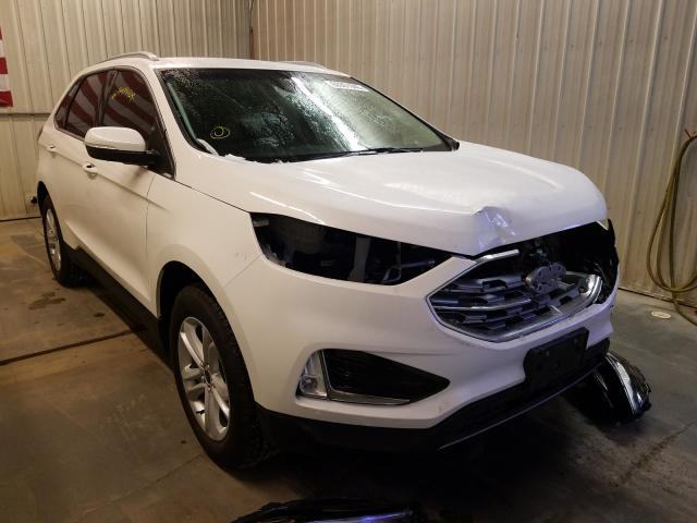 Salvage cars for sale from Copart Avon, MN: 2020 Ford Edge SEL