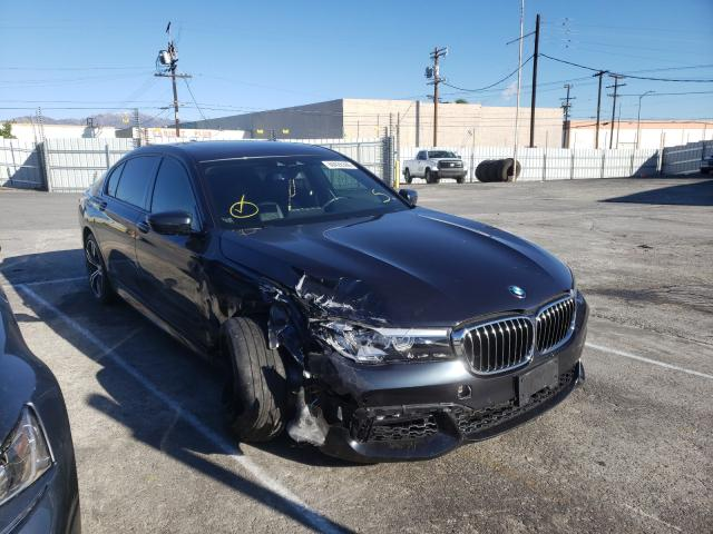 BMW salvage cars for sale: 2019 BMW 740 I