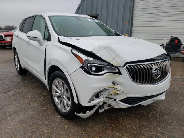 Salvage cars for sale from Copart Wichita, KS: 2017 Buick Envision E