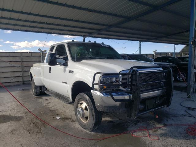 Salvage cars for sale from Copart Anthony, TX: 1999 Ford F350 Super