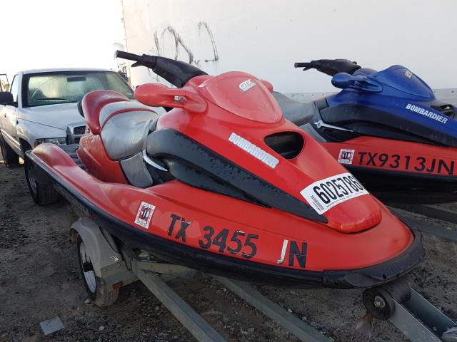 Salvage cars for sale from Copart Houston, TX: 2001 Seadoo Bombardier