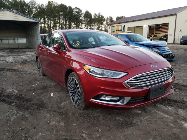 Salvage cars for sale from Copart Seaford, DE: 2017 Ford Fusion SE