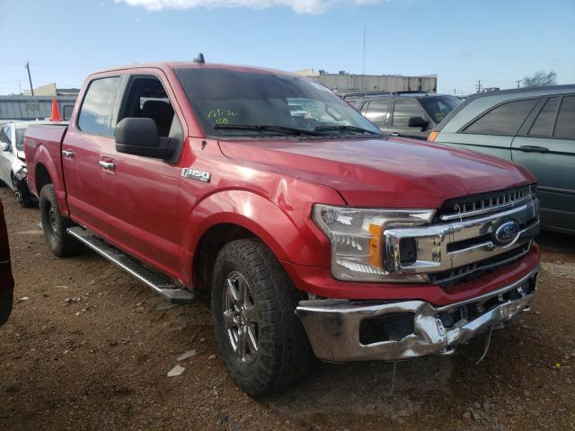 Vehiculos salvage en venta de Copart Mercedes, TX: 2020 Ford F150 Super